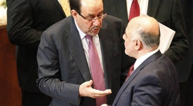 Abadi joins Maliki to form the largest bloc