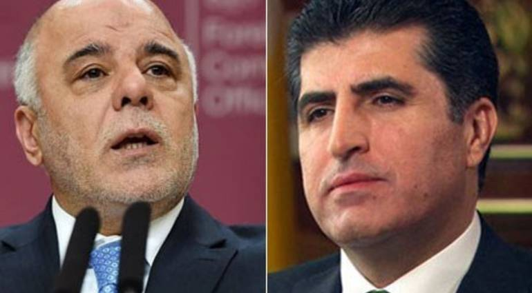 US Secretary of State Abadi and Barzani to condition the formation of the new government