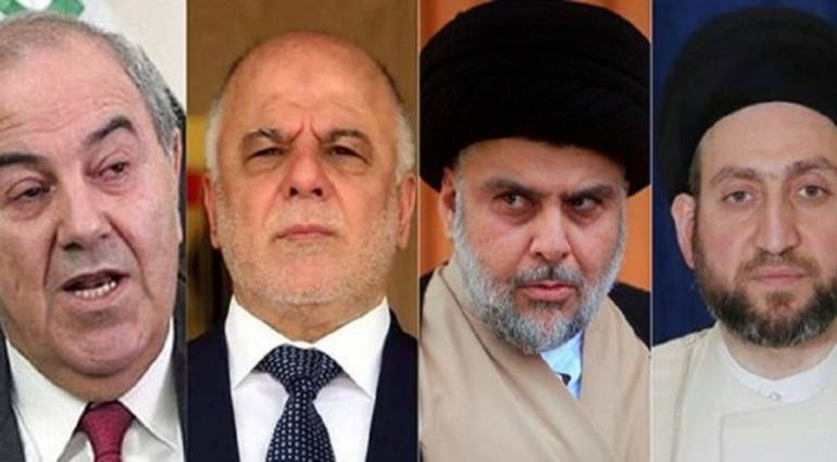 Abadi - Sadr - Hakim and Allawi form a new alliance against al-Maliki