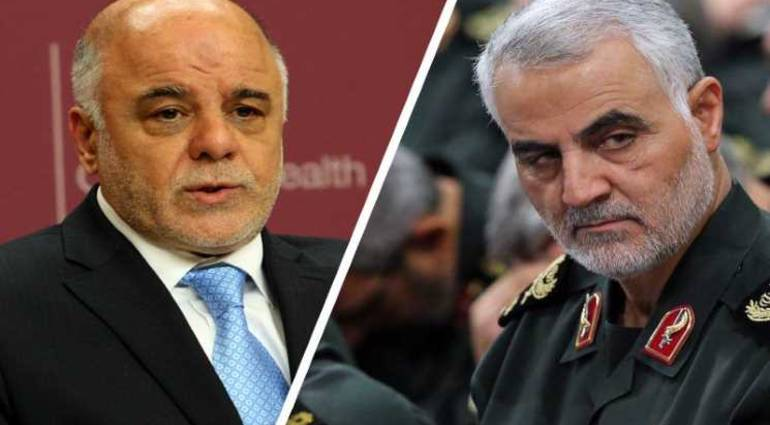 Close to Maliki - Qasim Soleimani failed to remove the American-backed Abbadi