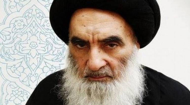 After burning the Iranian consulate ... reference Sistani calls for