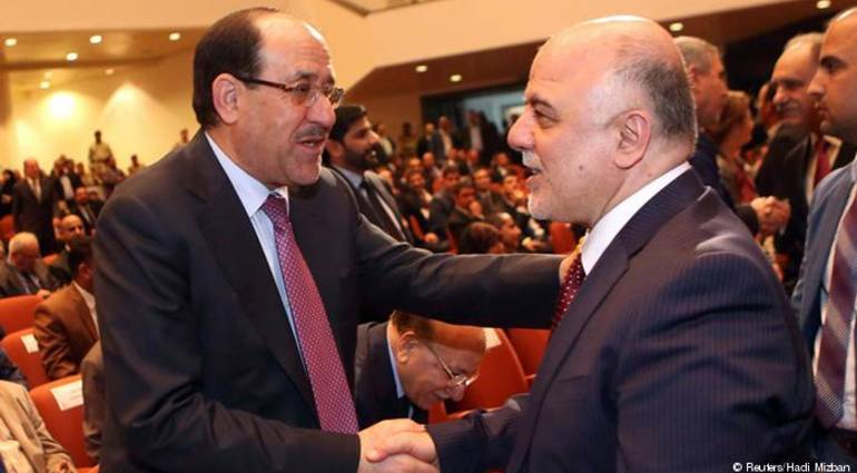 Convergence Abadi and Maliki finds Sadr .. And the trends of the alliance closer to Amiri